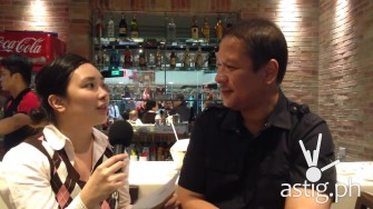 Gerry Apolinario exclusive interview at Gerry's SM Centerpoint Sta. Mesa [video]