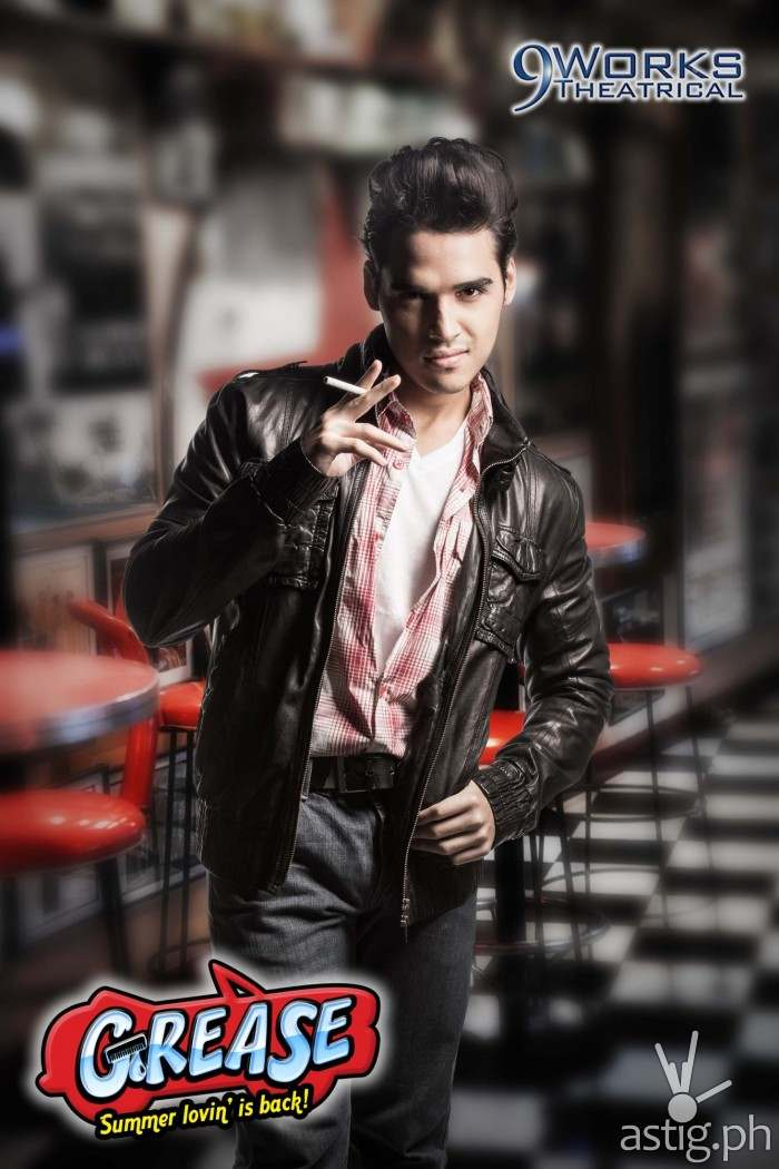 Grease 2014 Nelsito Gomez.