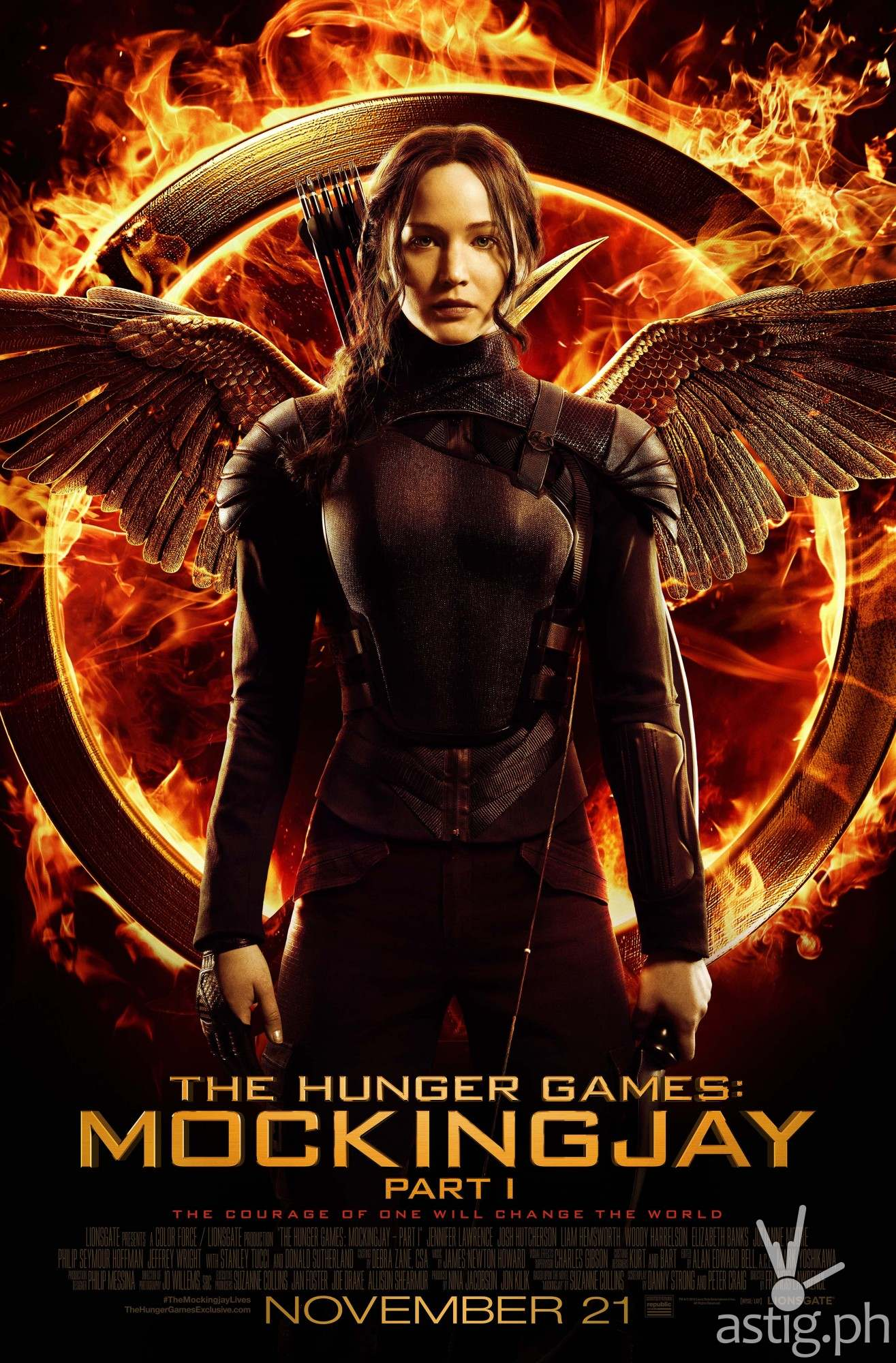 Hunger Games: Mockingjay poster