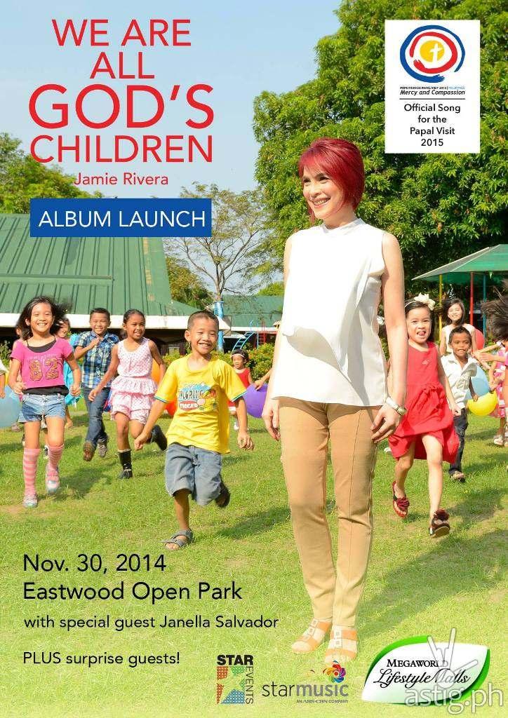 Jamie Rivera - We Are All God's Children poster