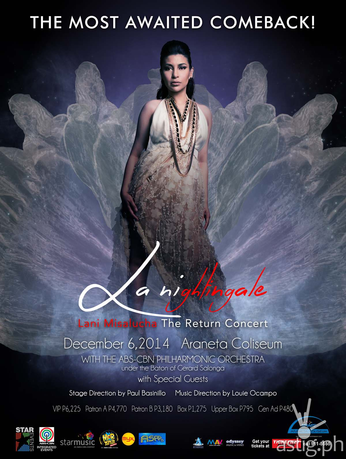 LA NIGHTINGALE: Lani Misalucha The Return Concert