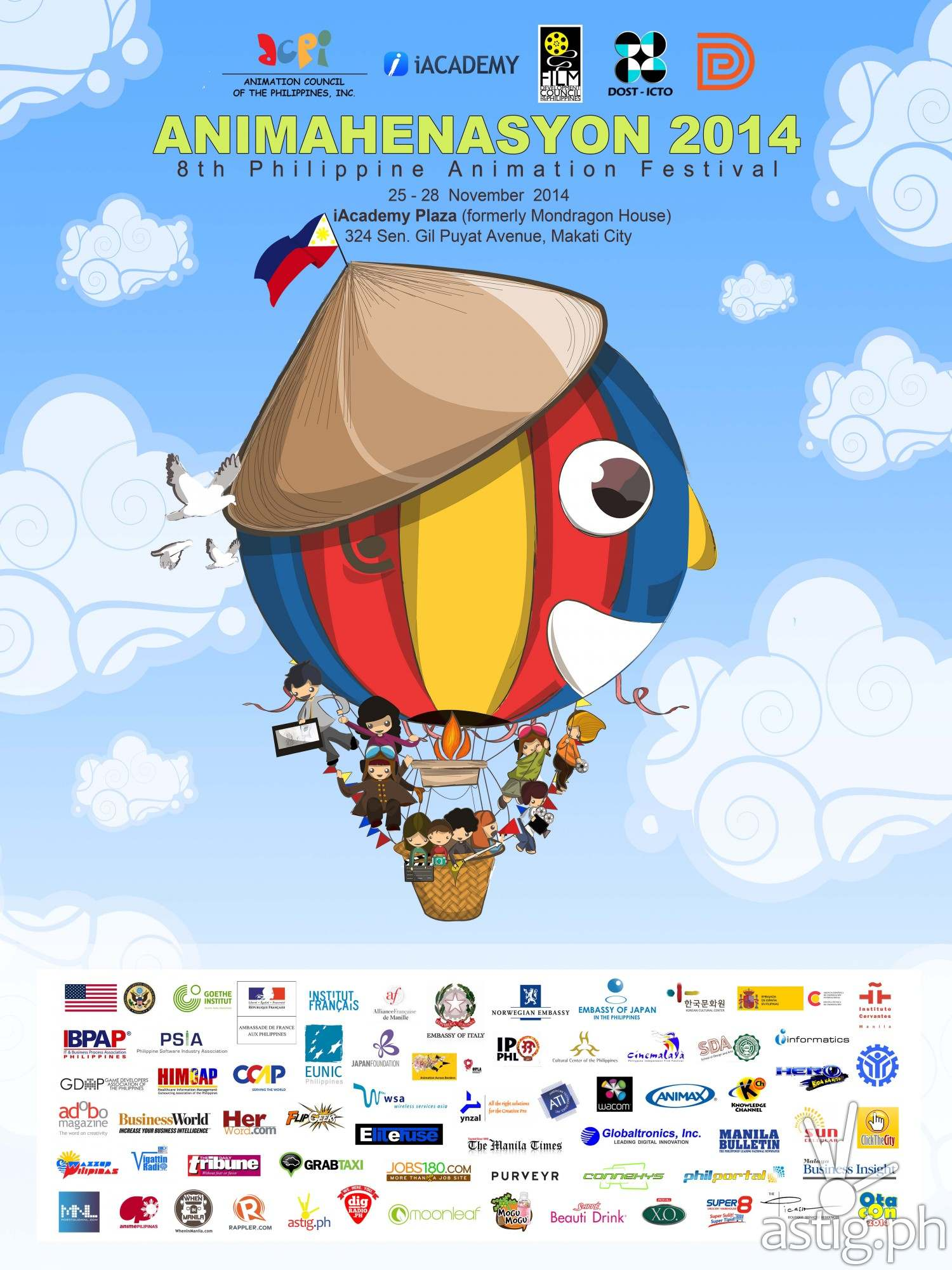 Official Animahenasyon 2014 Poster