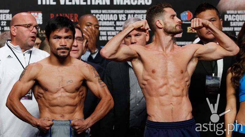 Pacquiao vs Algieri (via Inquirer.net)
