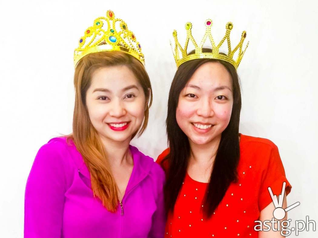 Queen for a day: with Princess Hazel Uy herself