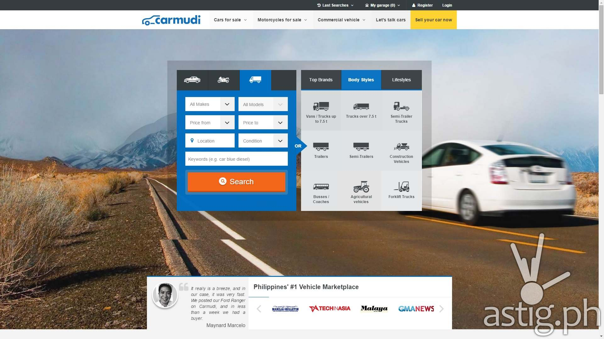 Carmudi Philippines launches new design