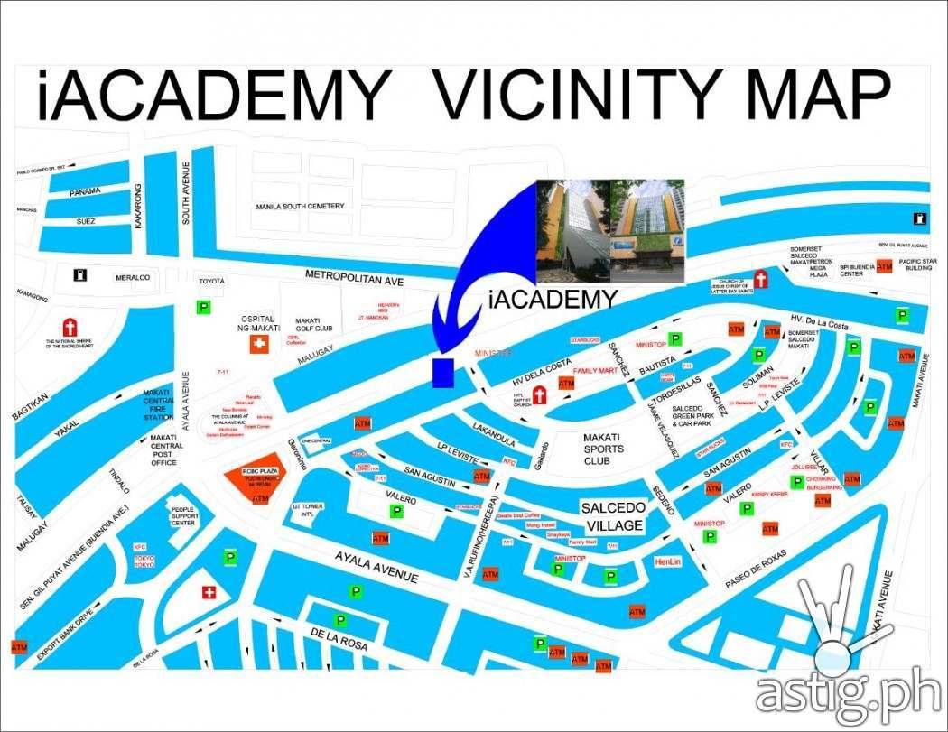 Animahenasyon iACADEMY vicinity map