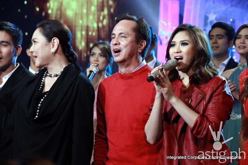 ABS-CBN Christmas Special featuring Eugenio Gabby Lopez III, Sarah Geronimo, and Charo Santos-Concio