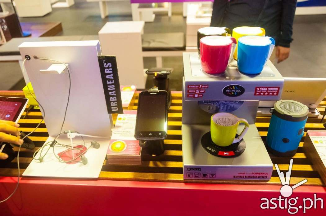 Tech toys and gadgets at the Globe GEN3: Next Act store in SM North EDSA