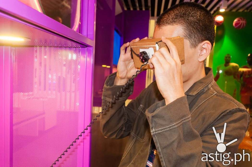 Google Cardboard transforms any smartphone into a virtual reality device by projecting different left and right images, simulating depth