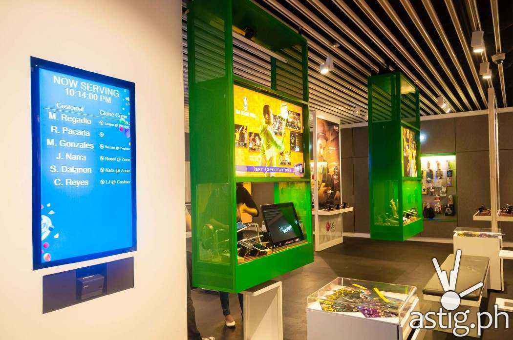 Globe Telecom GEN3: Next Act store in SM North EDSA