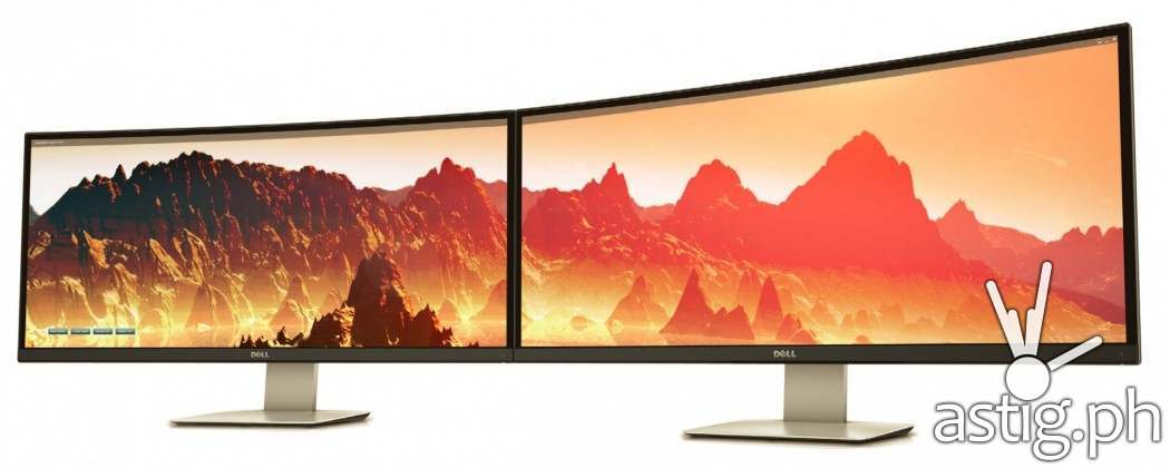 Dell UltraSharp 34 inch wrap around monitor U3415W