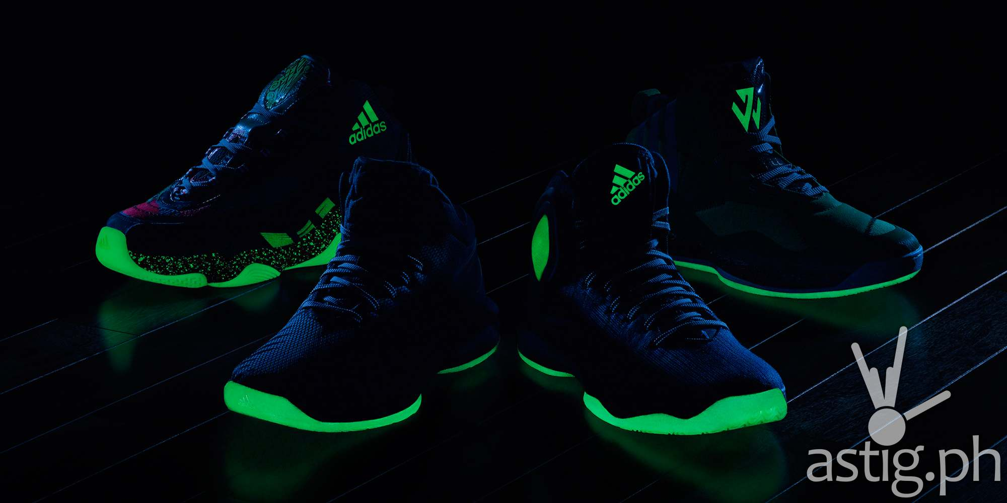 adidas Bad Dreams collection glow in the dark
