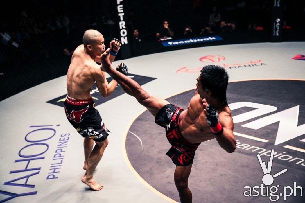 Kevin Belingon (Philippines) vs Koetsu Okazaki (Japan)