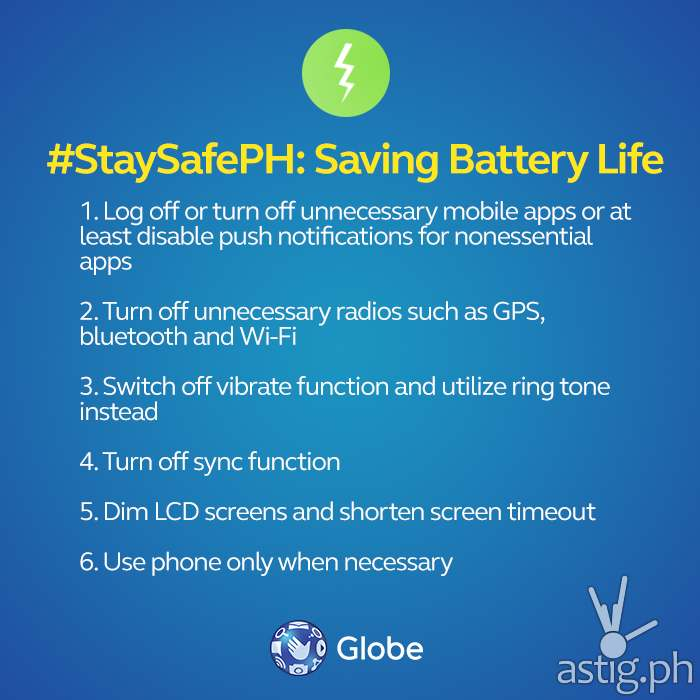 How to save battery life on your gadgets