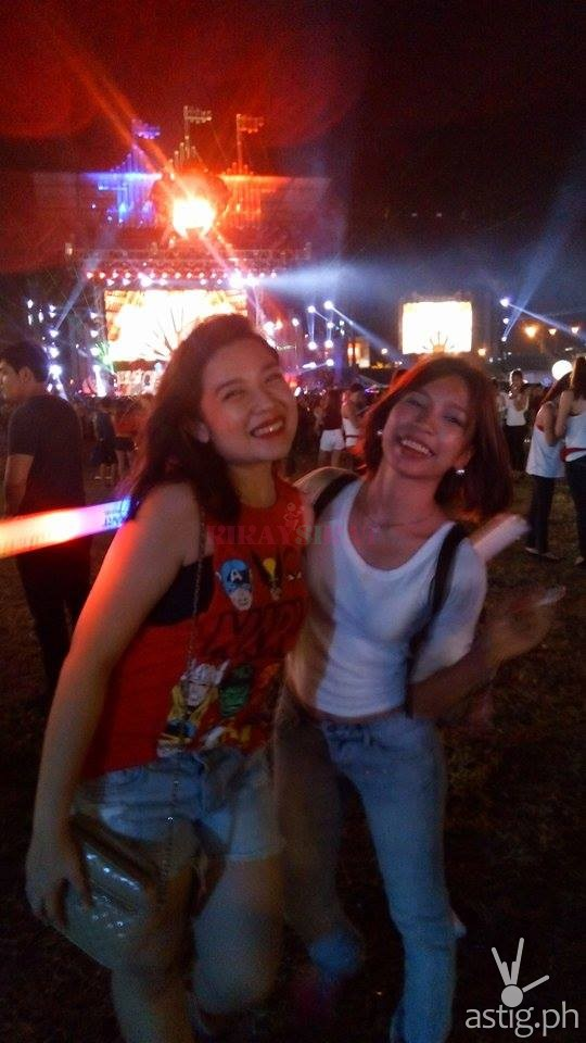 With my friend at Sonic Carnival 2014