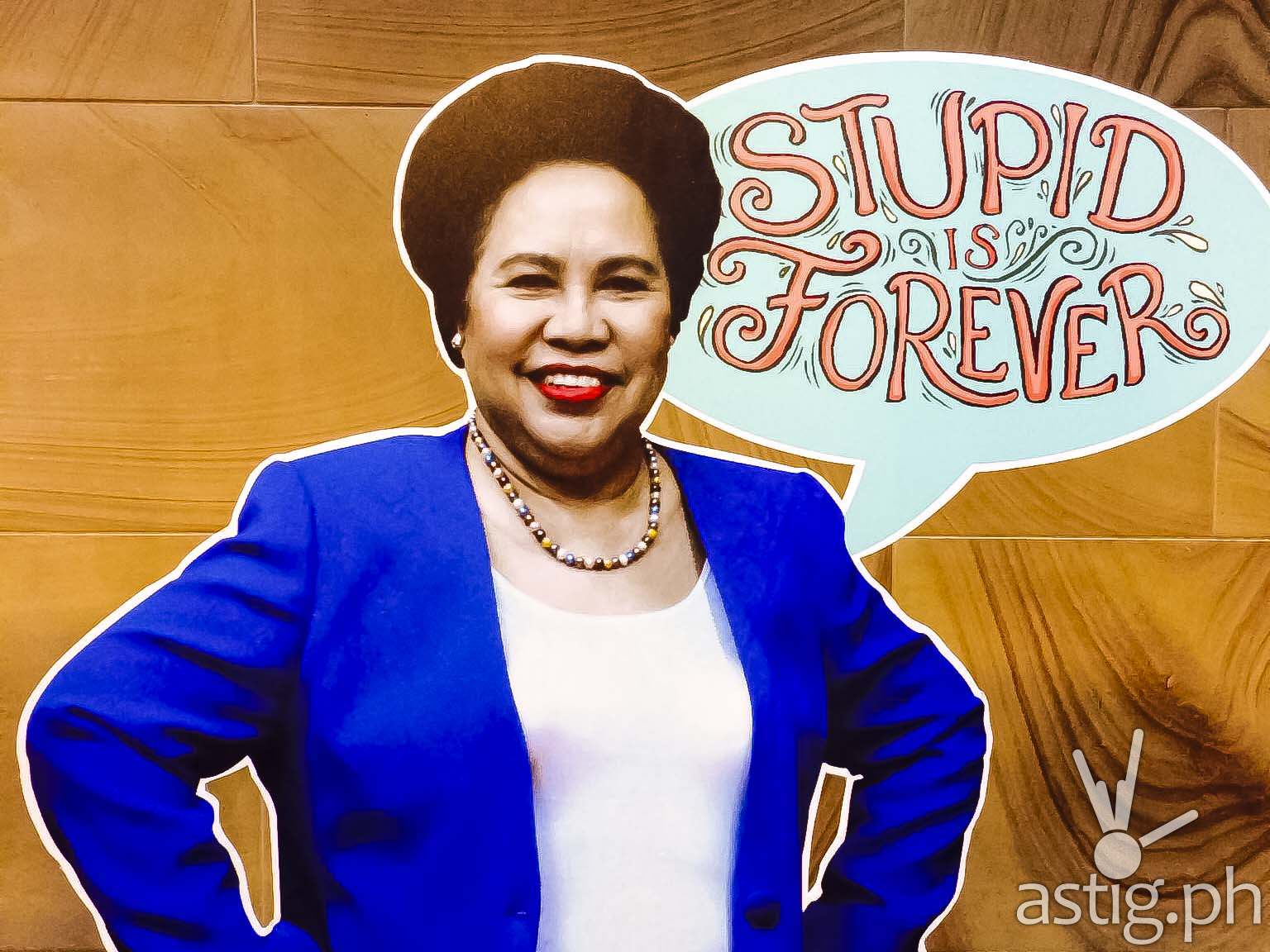 Miriam Defensor Stupid Is Forever Ebook