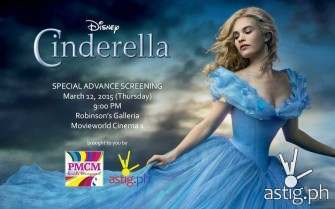 Cinderella movie block screening [giveaway]