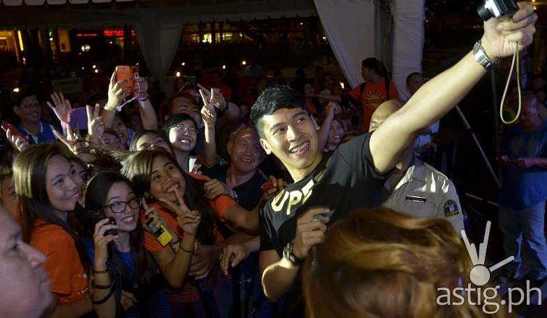 Enchong Dee at the Sinulog Festival 2015