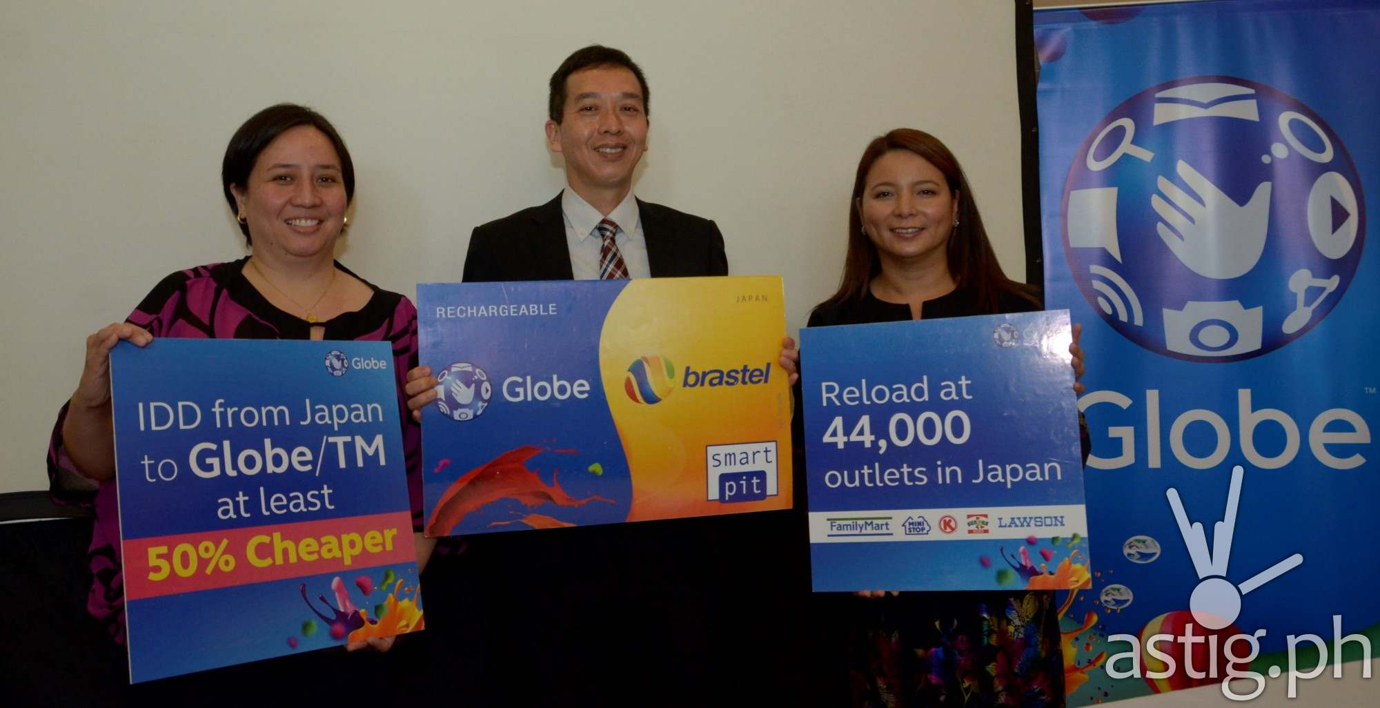 Make cheap calls to Japan with the new Globe Brastel card