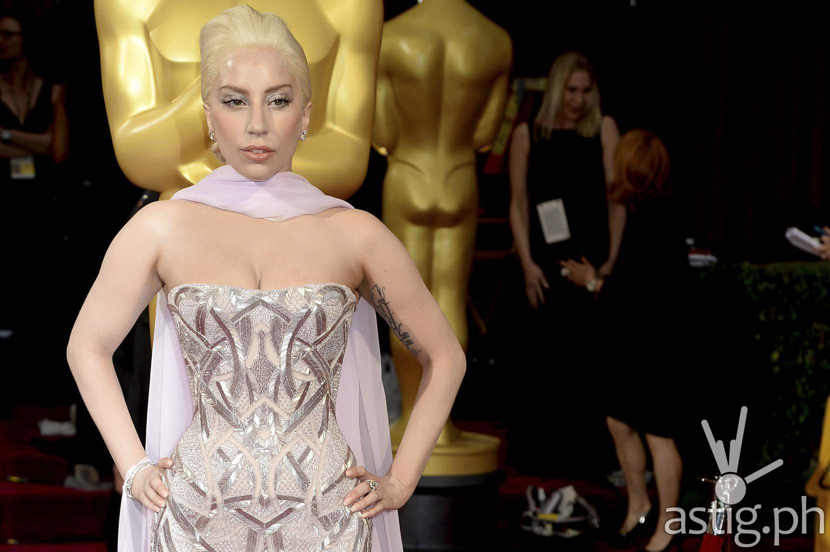 Lady Gaga Oscars 2015 Sound of Music