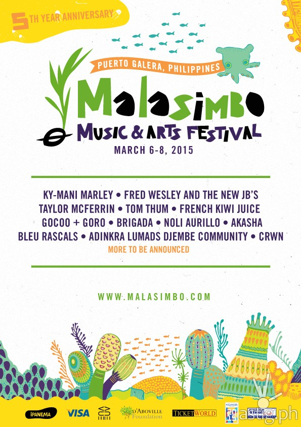 Malasimbo Music and Arts Festival poster