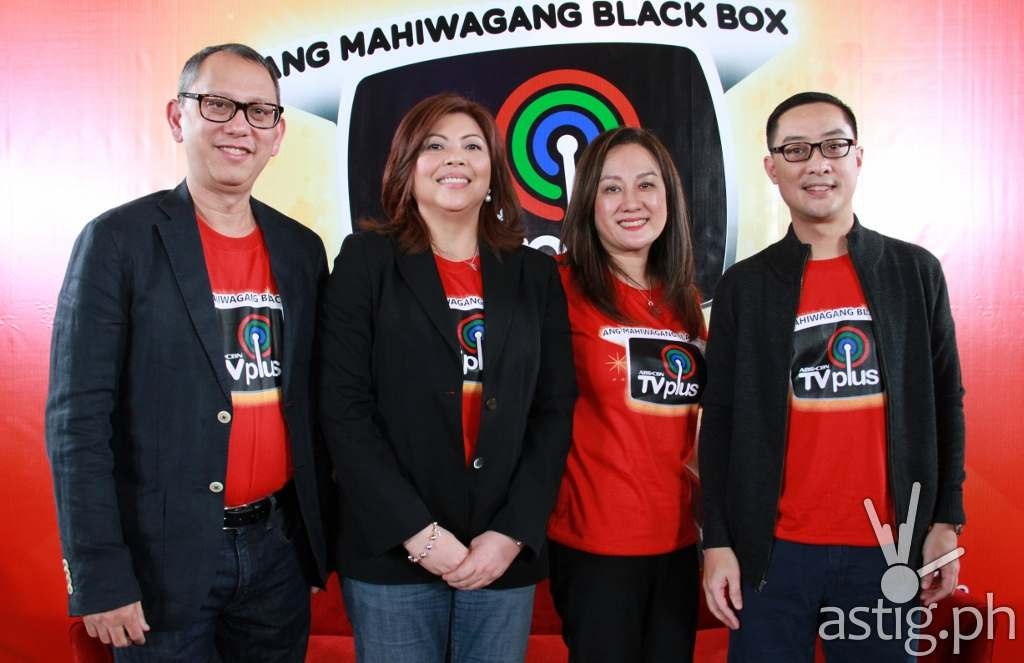 March Ventosa, Leng Raymundo, Chinky Alcedo, and Carlo Katigbak