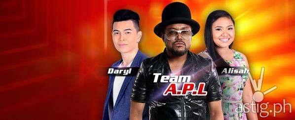 Team Apl's top 2 artists Daryl Ong and Alisah Bonaobra