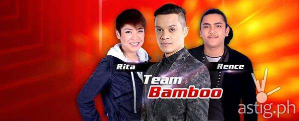 Team Bamboo's top 2 artists Rita Martinez and Rence Rapanot