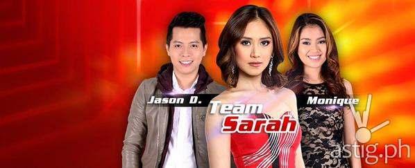 Team Sarah's top 2 artists Jason Dy and MOnique Lualhati