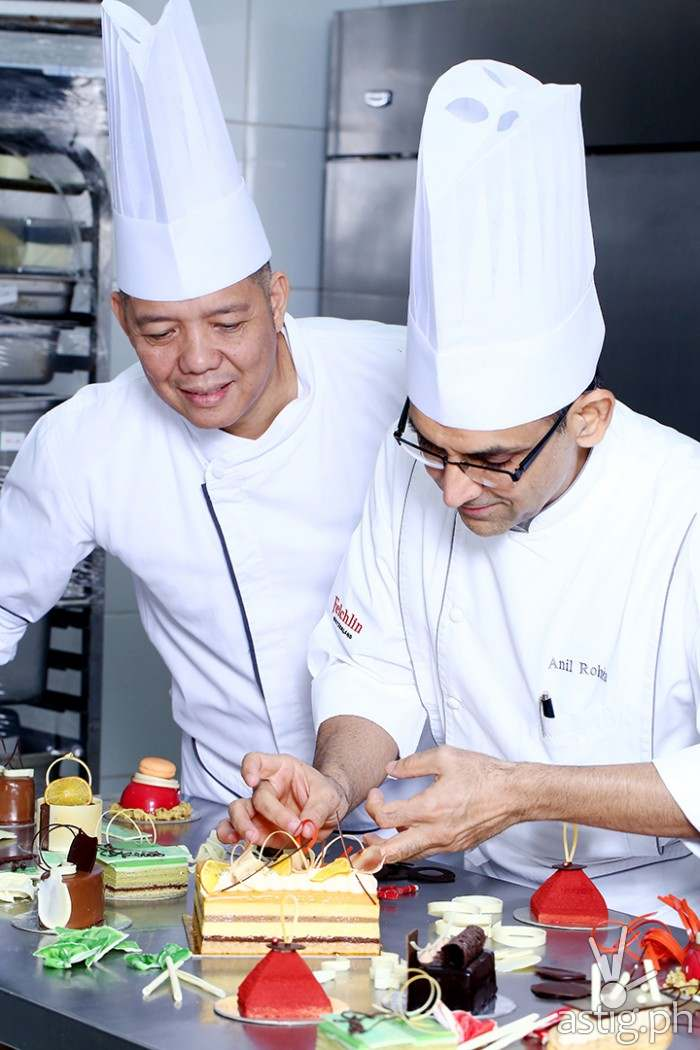 World Renowned Pastry Chef Anil trains Marriott Hotel Manila Pastry Team
