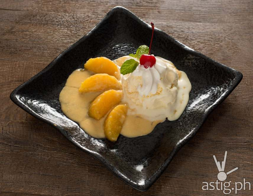 From Feb 12-15, get a free Orange Flambé vanilla ice cream for minimum purchase of P1,500 at Akira