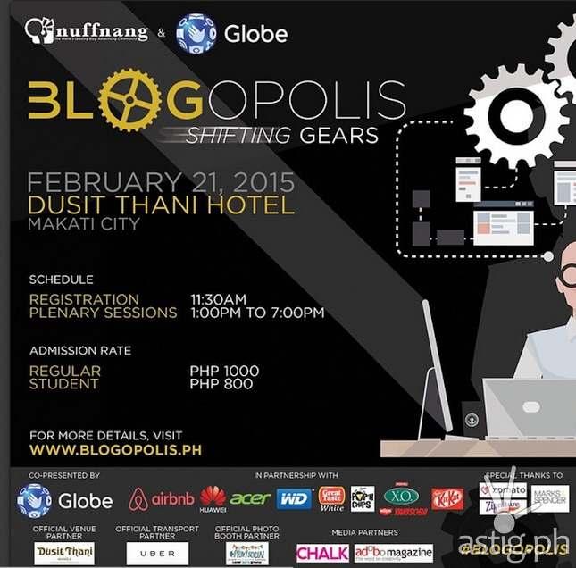 Blogopolis 2015 poster