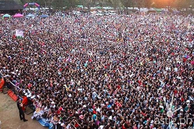 22,000 Kapamilya flocked to Burnham Park for the 2015 'Panagbenga Kapamilya Karavan'