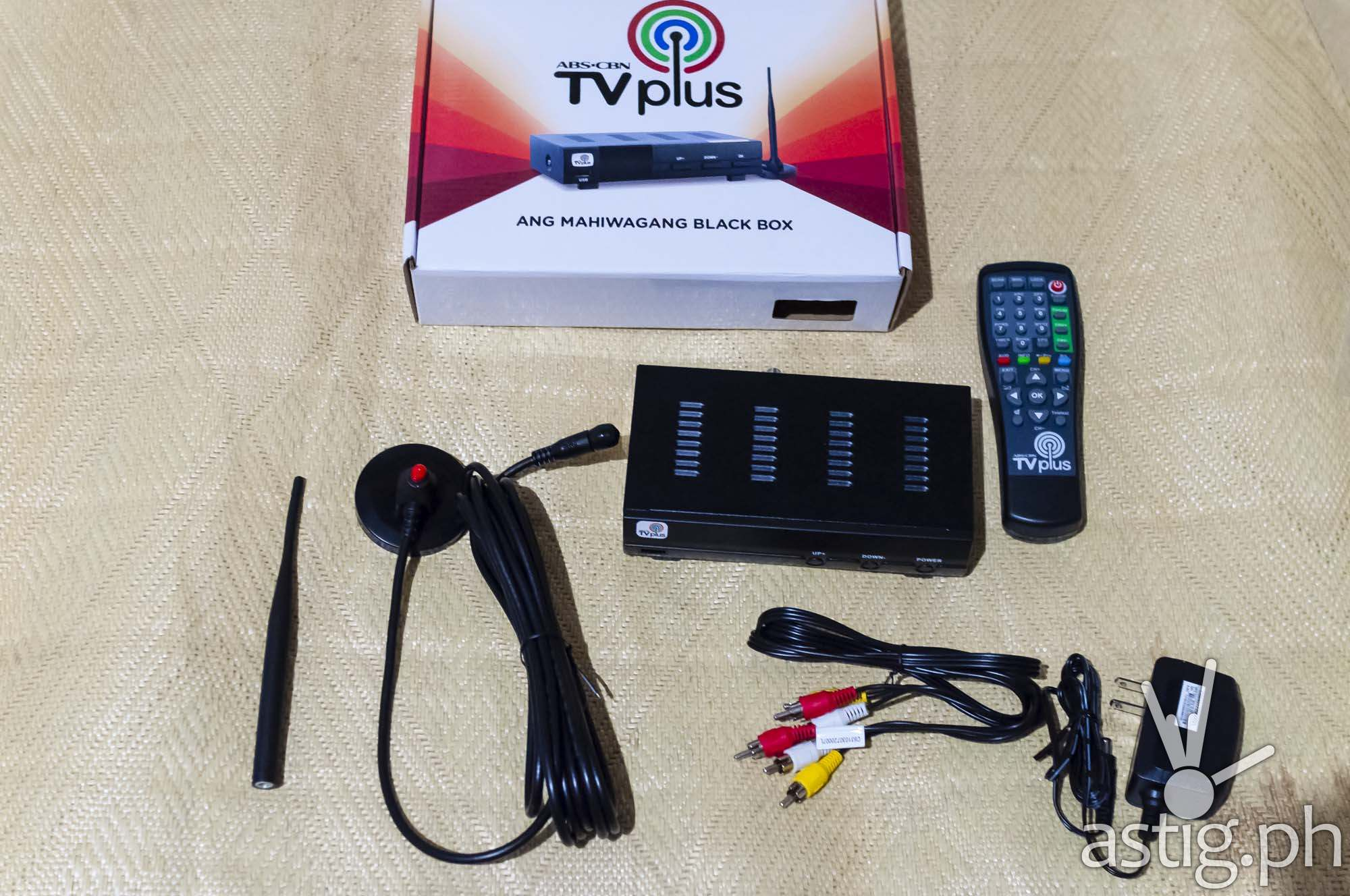 ABS-CBN TVplus unboxing contents