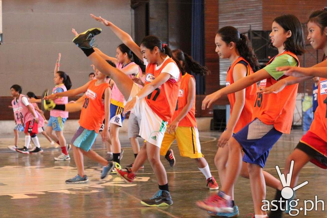 Jr WNBA kids from Bacolod
