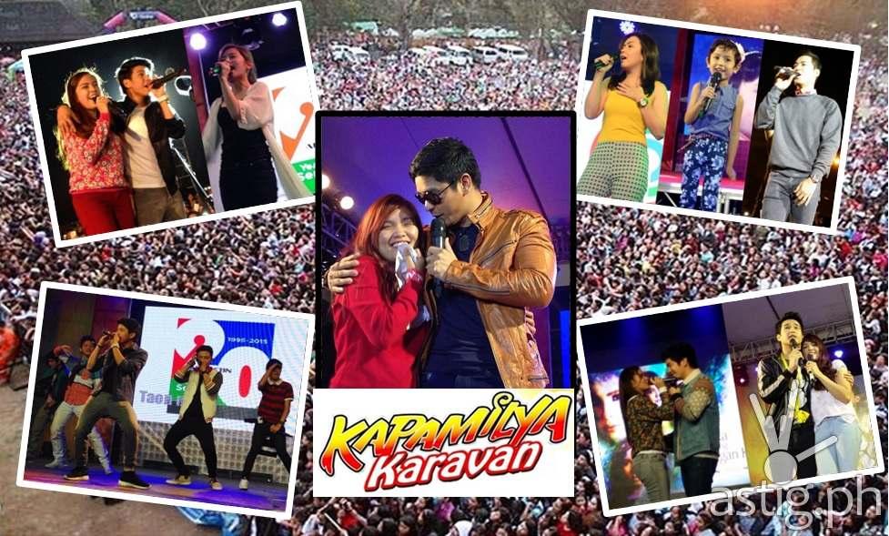 Kapamilya stars at the 2015 Panagbenga Kapamilya Karavan