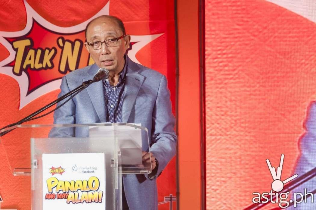 Napoleon L. Nazareno, President and CEO of PLDT and SMART