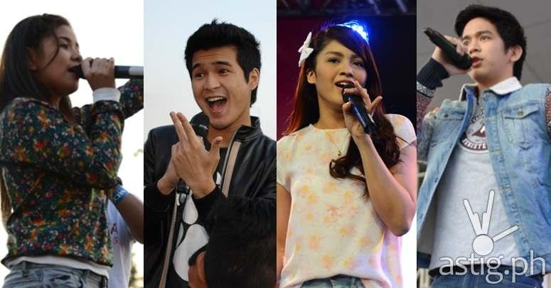 'Nasaan Ka Nang Kailangan Kita' teen cast members Jane Oineza, Jerome Ponce, Loisa Andalio and Joshua