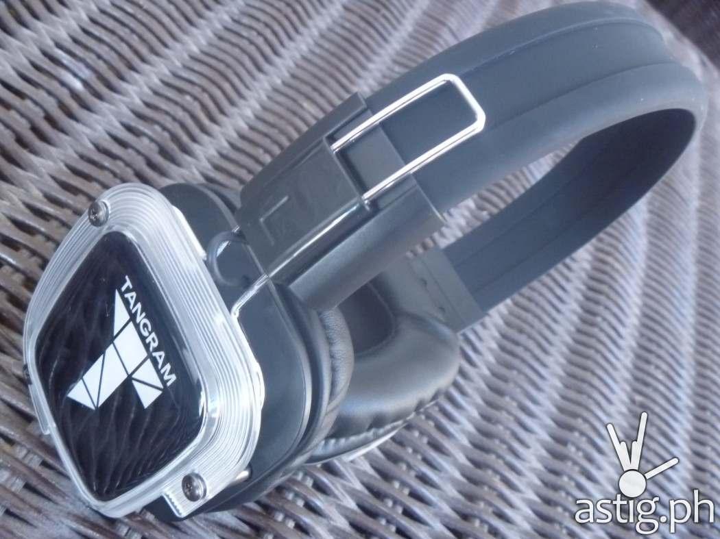Tangram silent disco headphones