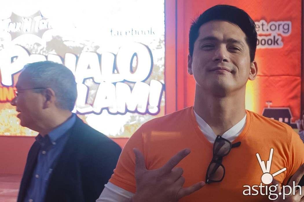 Talk N Text brand ambassador Robin Padilla poses for ASTIG.PH