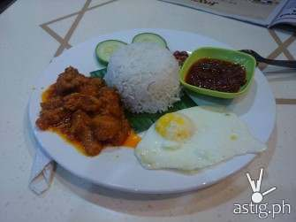 Rendang, a typical Malaysian dish commonly found everywhere