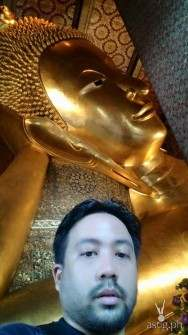 Inside the Temple of the Reclining Buddha