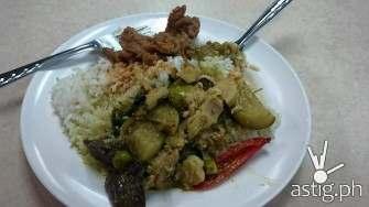 Thai food is crazy hot!!!
