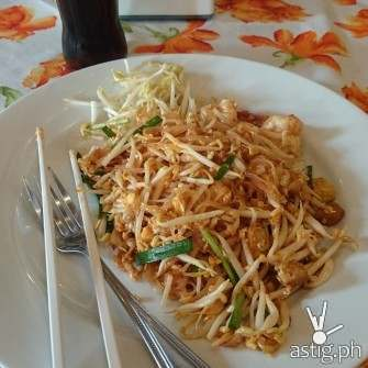 Padthai, a must try in the city