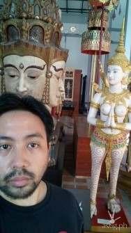 Bangkok National Museum display