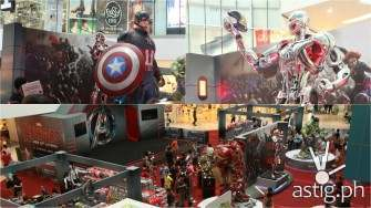 Check out these life-size Avengers in 'Age of Ultron' exhibit at SM North EDSA