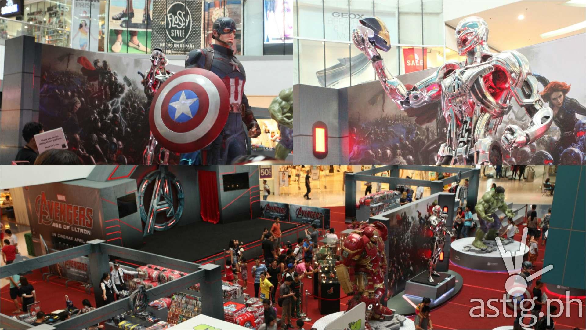 Avengers Age of Ultron exhibit Filbar's SM North EDSA