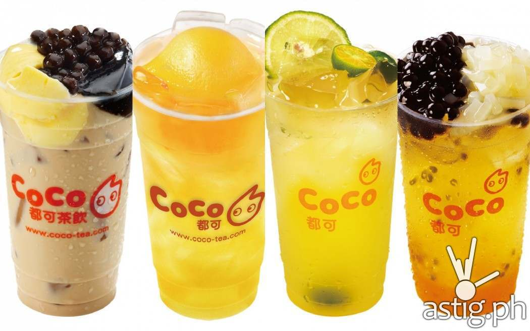 CoCo Tea takes on the summer heat with fresh juices and milk teas ...