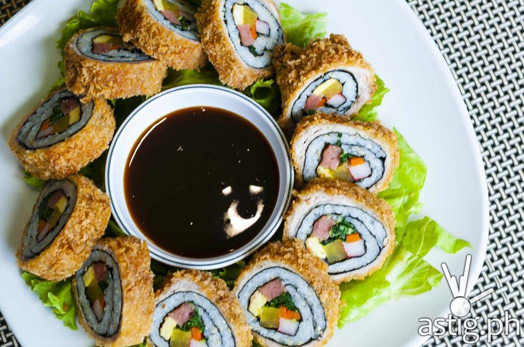 Tonkatsu Kimbap at Leann's Tea House (P250)