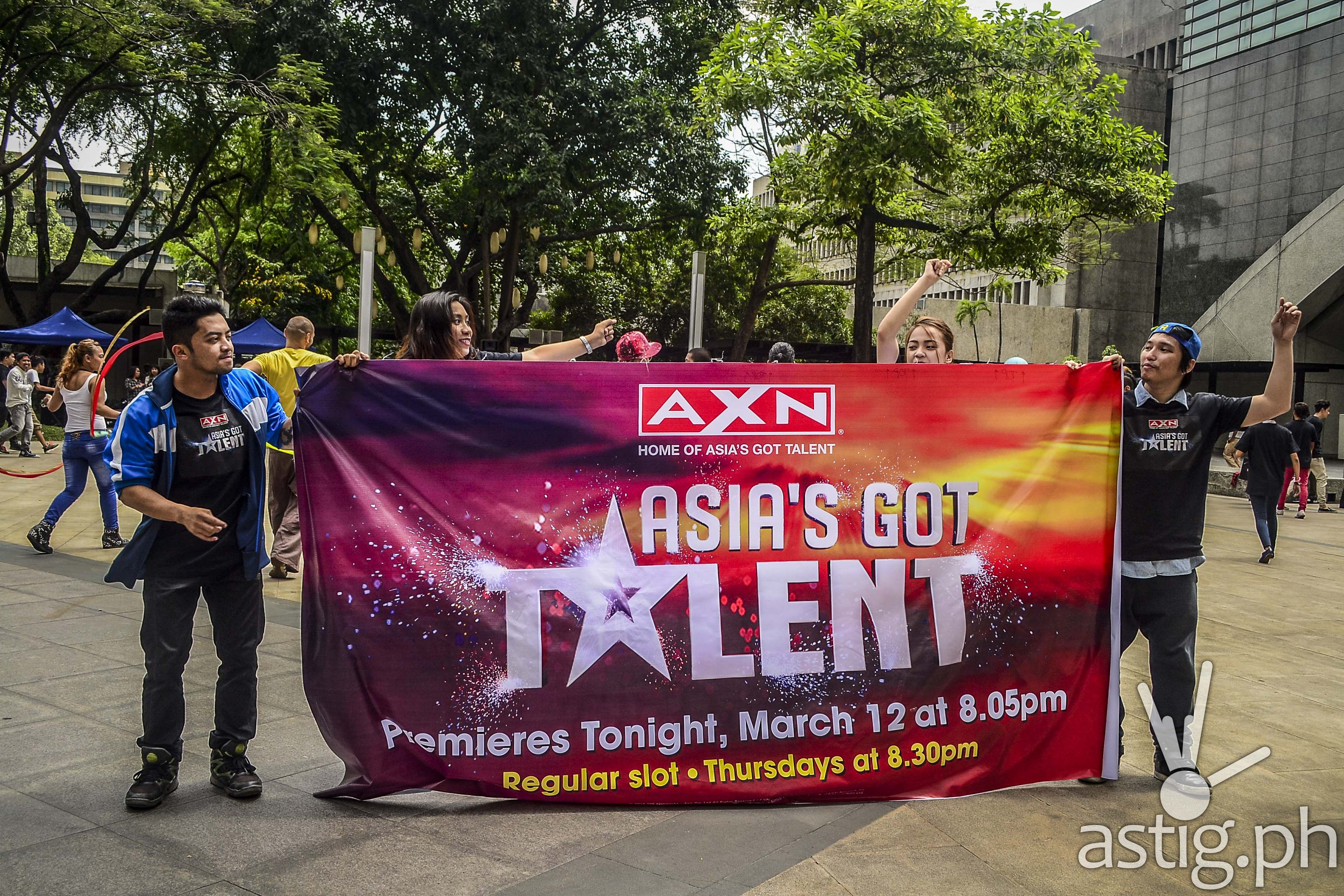 Asia's Got Talent flash mob